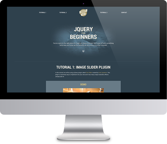 jQuery Tutorial Site | MLWORKS